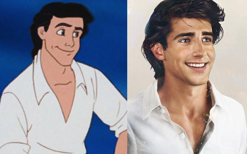 夢想成真的那天❤️️「8個迪士尼王子走出螢幕變真人」 線上那些男明星都輸慘了!
