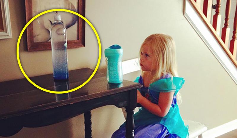 國外媽媽製作「透明魔法塑膠瓶」 小朋友看一眼立刻冷靜!