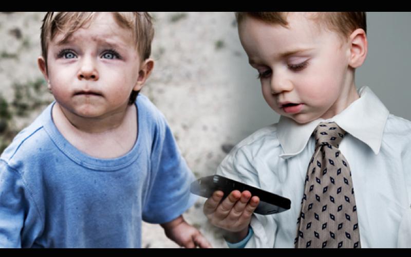 他帶兒子體驗「沒有錢的日子」學珍惜 卻被窮人們的寶物打臉到說不出話來...