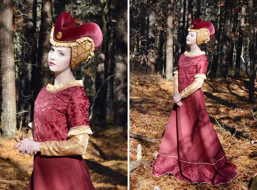 巧手女孩14歲開始自己做衣服 超夢幻成品完全媲美迪士尼公主等級!