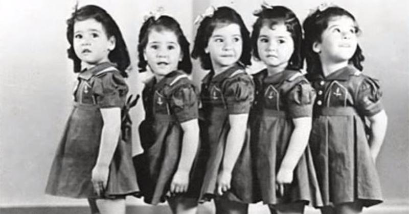 她們是「世界上首例5胞胎女孩」 一出生受到全球關注但後來被「人性毀掉了」