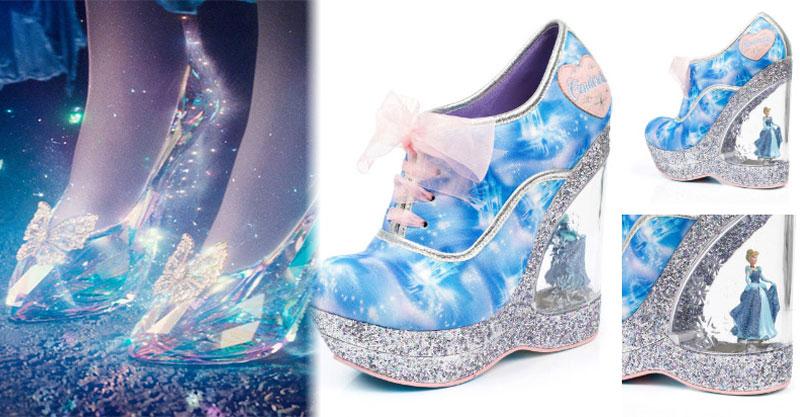 7款比玻璃鞋還要美的「仙履奇緣聯名鞋款」 每種不同鞋跟設計閃瞎所有人!