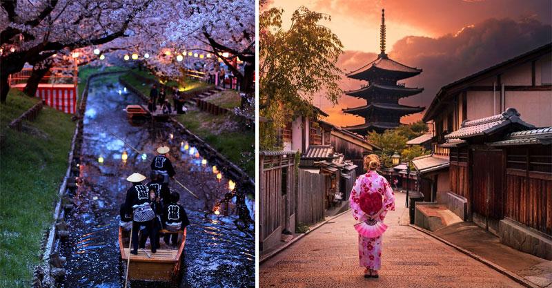 40張「比動畫更美」美照證明日本是世上最美國家 流浪漢睡覺都這麼藝術感!