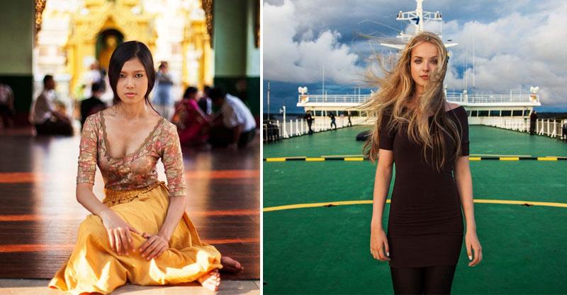她走遍全球幫各國女生拍照!用37張照片證明「美沒有絕對標準」