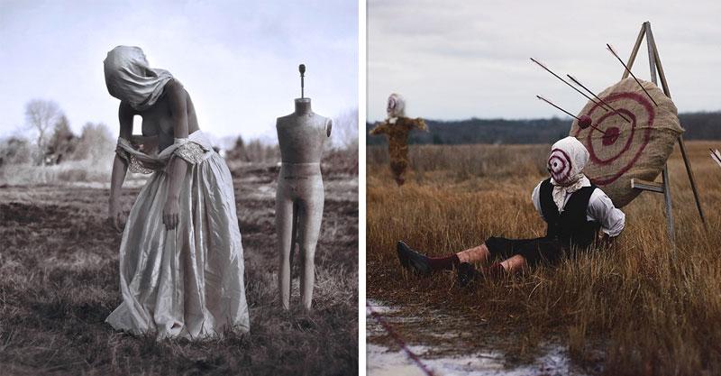 22歲攝影師把他從小被「鬼壓床」的26張畫面都拍出來