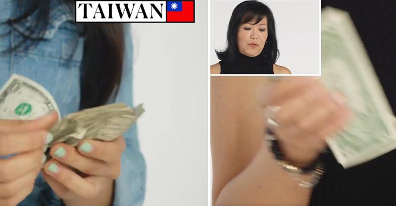 各國人展現祖國「數鈔票方式」 台灣人手指根本「活體點鈔機」吧!