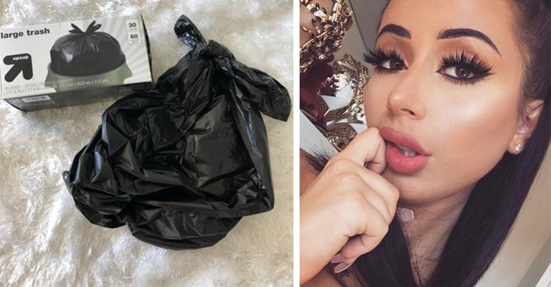 正妹網紅被罵垃圾 霸氣「用垃圾袋做超美禮服」打臉酸民