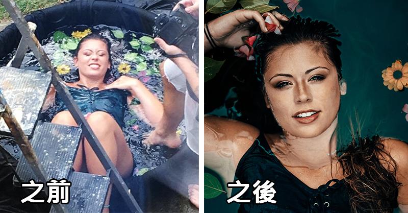 攝影師挑戰在兒童泳池拍照 「拍出質感藝術美照」花不到1千台幣!