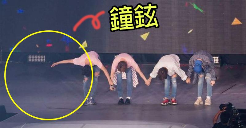 SHINee小型演唱會上「摟空氣鞠躬」 粉絲1秒全淚崩:那是鐘鉉還在的痕跡