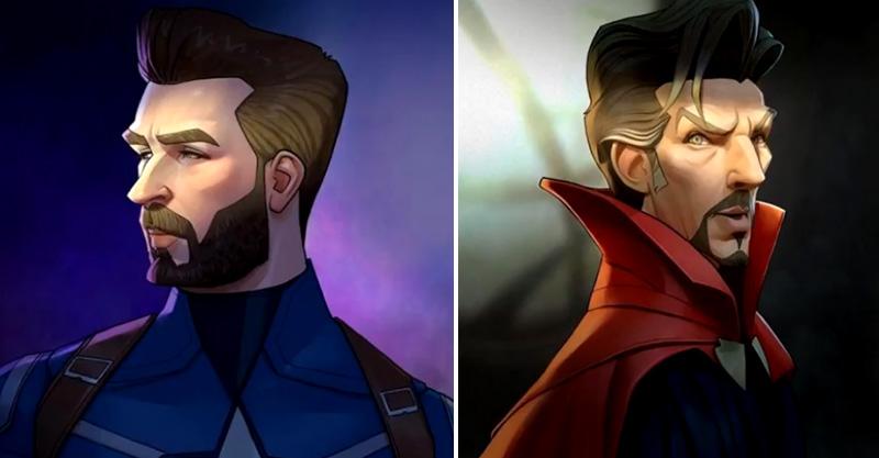 13位變成「迪士尼風格」的漫威英雄人物 洛基幾乎撞臉《阿拉丁》賈方!