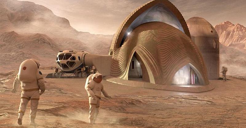 NASA辦火星住宅設計比賽  決賽作品「超科幻內部」讓人想當火星人了♥