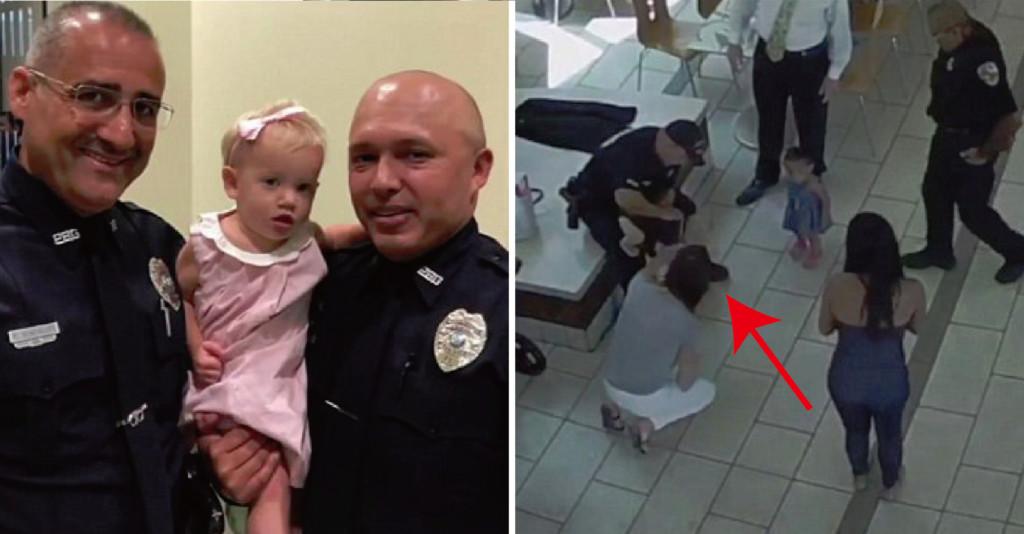 女童吃雞塊「卡喉嚨」 老媽+警察神救援...傻妞恢復呼吸:我想再吃~