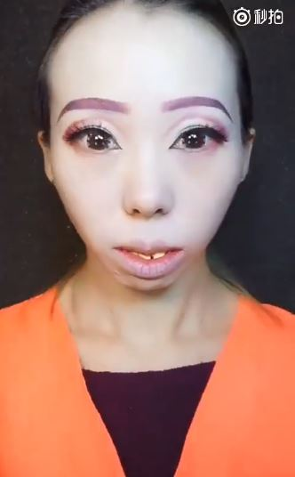 「隱形整形級化妝術」打掃大媽→夜店辣妹 卸妝完除了OMG沒別的話...