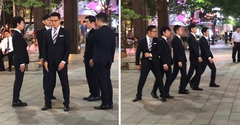 日知名機械舞團現身台北 引退團長「穿西裝親自帶隊」粉絲激動:期待MV!