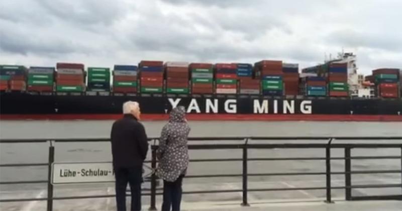 台灣貨輪入德國港!港口大聲播「中華民國國歌」 網秒落淚:起雞皮疙瘩~