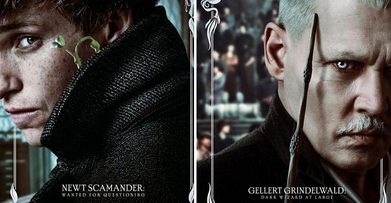 《怪獸與葛林戴華德的罪行》全新海報曝光 「附註小字」藏重要訊息...沒看就進戲院保證霧傻傻~