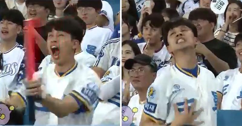 也太好Cue!激動哥看球賽超亢奮 下秒鏡頭帶動「當場性感熱舞」嗨爆全場