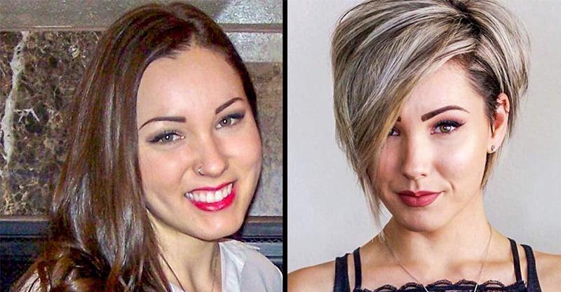 好髮型帶你上天堂!15張證明「改變髮型比整形更有效」理髮前後對比圖