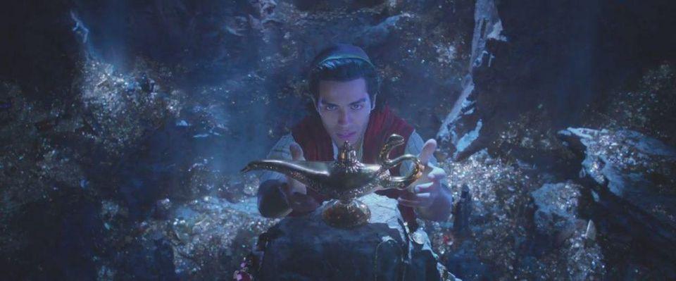 真人版《阿拉丁》飄出神燈 威而史密斯「化身藍色精靈」揭開超正茉莉公主真面目!