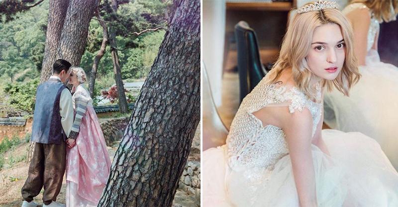 逆天長腿俄羅斯妹子嫁韓國歐巴 「曬混血寶寶」網羨慕:根本人生勝利組!