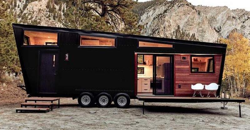 看起來超無聊的「黑色貨櫃車」 走進去竟然藏著「芬蘭式溫馨豪宅」整個冬天只想窩在裡面❤