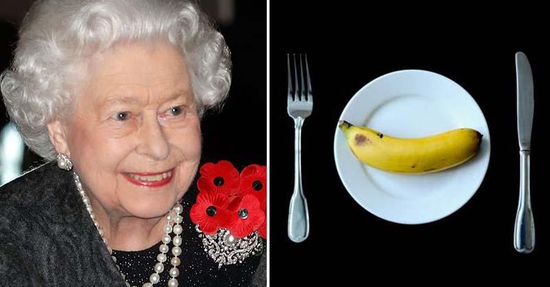 英國女王吃香蕉都用刀叉!複雜程序原因超可愛:「不想像猴子一樣」