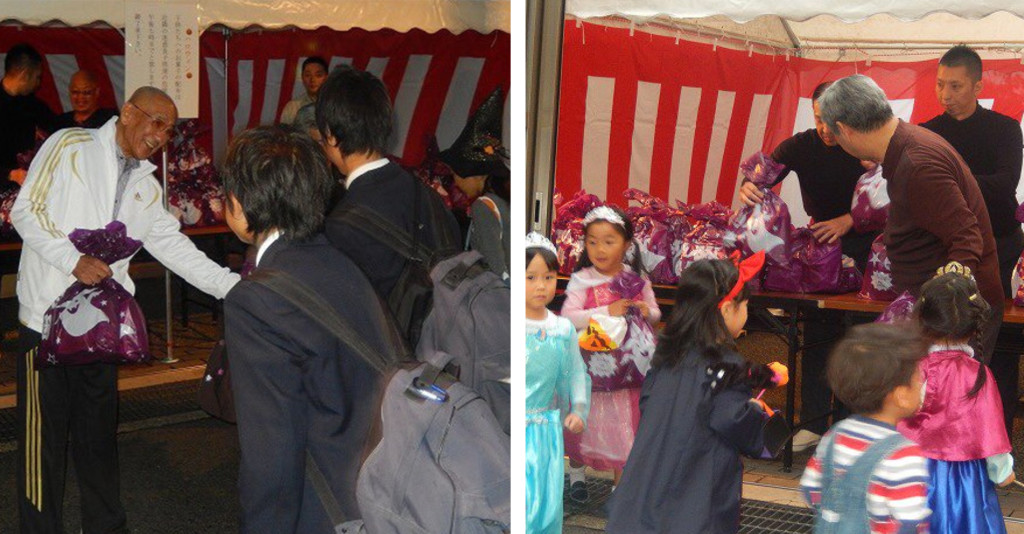 山口組總部門大開萬聖節發糖果 居民抗議:壞就是壞,別想用這招洗白