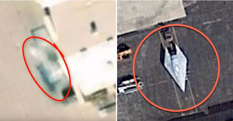 Google衛星豬隊友?曝光美國「藏了8年的軍事基地」 多架秘密戰機照流出