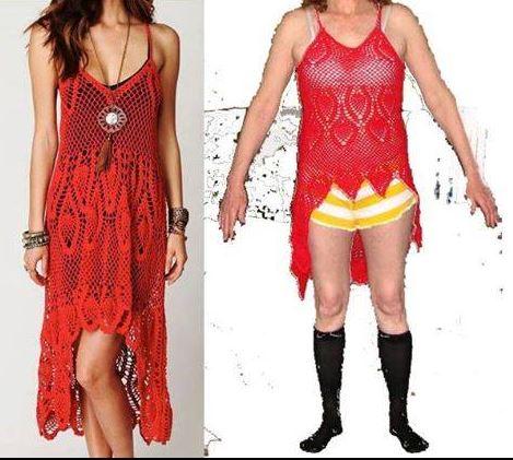 洋裝一穿上「低胸開到肚臍」!3種網購踩雷賭爛完的小改造 忍不住佩服自己的腦洞啊~