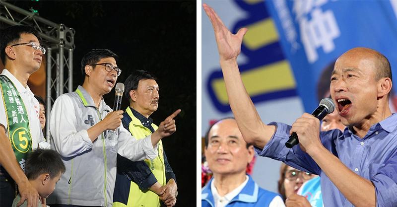 KMT尷尬!韓國瑜直誇「柯P幫我擊敗王世堅」送上支持 資深政客:10天禿子帶領藍軍
