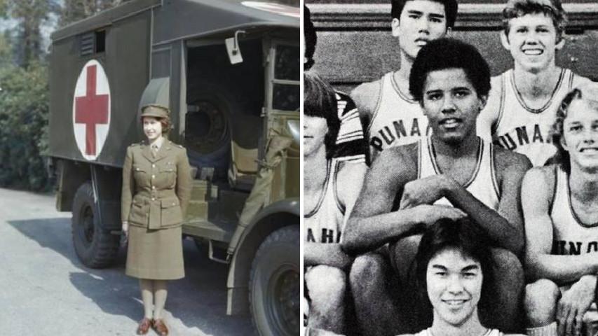 22張「扭轉歷史真相」的有趣照片 當年的英國女皇得當兵、歐巴馬只會打籃球!