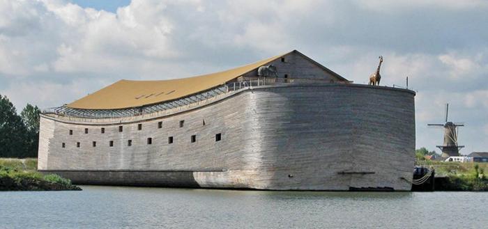 這位大哥花5000萬「建造先進版諾亞方舟」 現在沒有人笑他...反而搶著想報名!