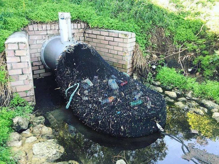 抗汙染歷史性一刻!澳洲研新招「一張網」阻擋300公斤垃圾 簡單到台灣也能馬上模仿~