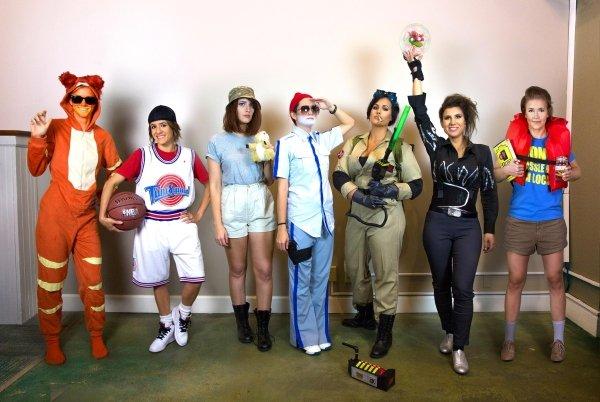 7姊妹連6年「挑戰好萊塢大咖」變裝 金凱瑞系列「辣妹摩登大聖」直接讓本尊羞愧♡