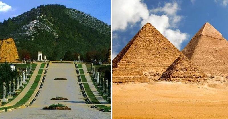 中西方「死人最後的安詳地」誰建造最難?攤開金字塔超精準丈量...秒懂為何盜墓者會困死裡面!