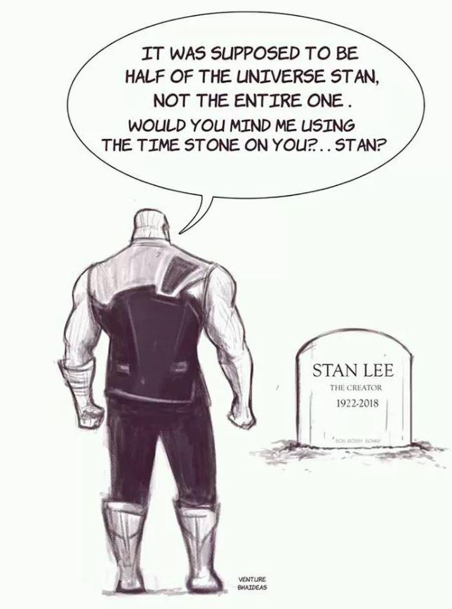 比薩諾斯帶走還殘忍...漫畫家「畫出最後英雄史丹李」最後一集 化為粉塵飄走粉絲爆哭:這我不行