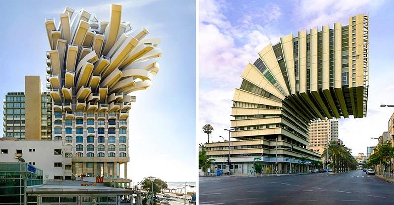 14個「違反地心引力」的建築設計 阿爾卑斯山黏在懸崖邊的三角玻璃酒店!