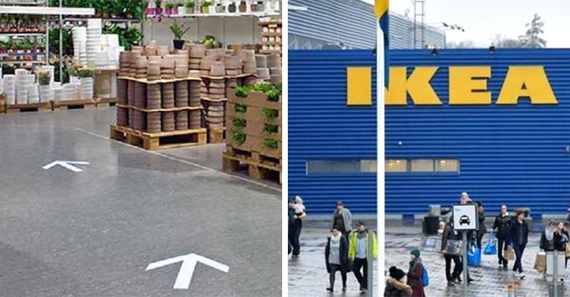 方向標的重要性!打烊時間到了卻「沒半個人走出IKEA」 孕婦差點在地毯生小孩!