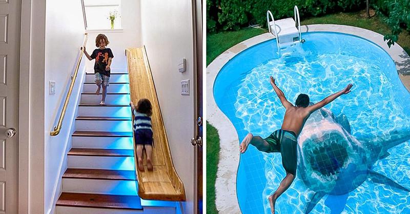 20個「把你的家升級到另一個層次」的超夢幻家居設計 可以賞魚的洗手台!
