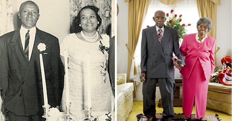 20對成為「情侶終極目標」的真愛傳說 結婚77週年和年輕版自畫像拍照♥
