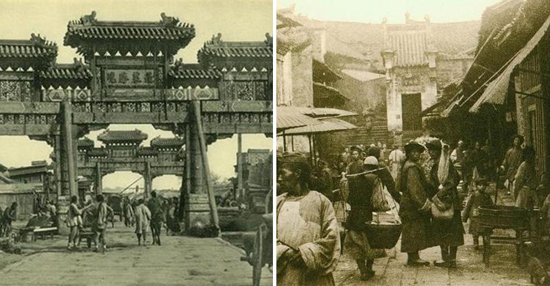 6張「打臉清朝宮鬥劇拍得太假掰」的真實街景照 光是道路就能看出差別!