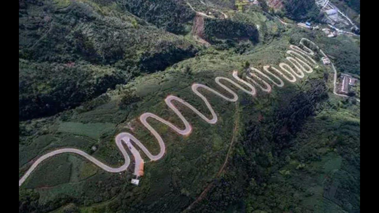 天下第一彎!中國雲南7公里「連續68個髮夾彎」 每10秒過1個閃神就見上帝了