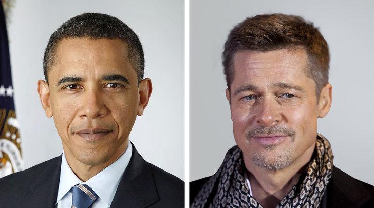 10對「WTF竟然是親戚關係」的名人 歐巴馬和布萊德彼特是表兄弟!?