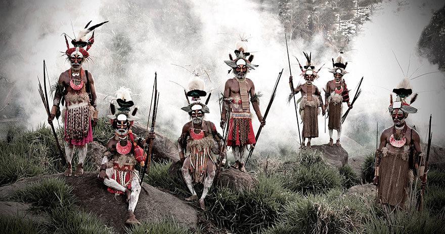 21張道出人類根源「現代的原住民」震撼照 每一張都美到像史詩電影!