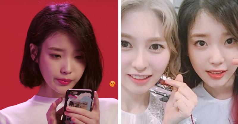 南韓女星PO文遭嗆:又沒TWICE這麼紅 IU看不下去現身「溫柔反擊」...直接暖哭後輩♥