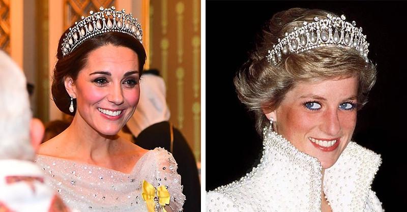凱特出席外交招待會直接偏離主題 全場只看「比聖旨還狂的皇冠」:那是黛安娜的啊!