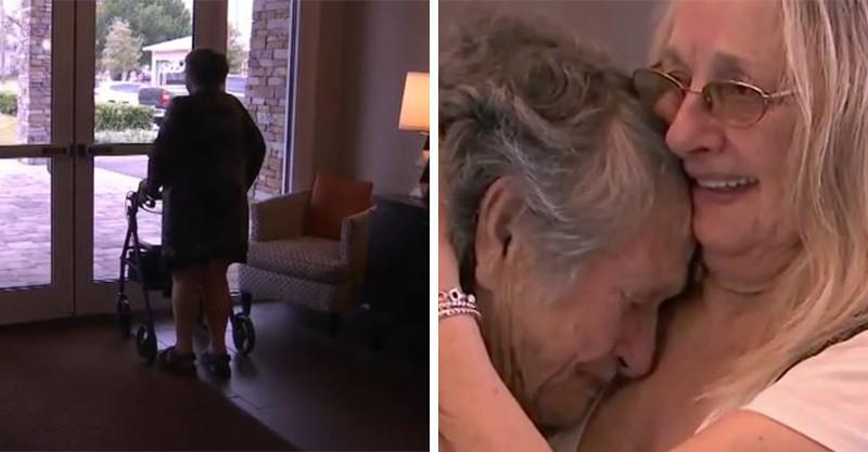 催淚片/88歲奶奶與「從未見過面的女兒」重逢 見到女兒瞬間潰堤:我等了69年...
