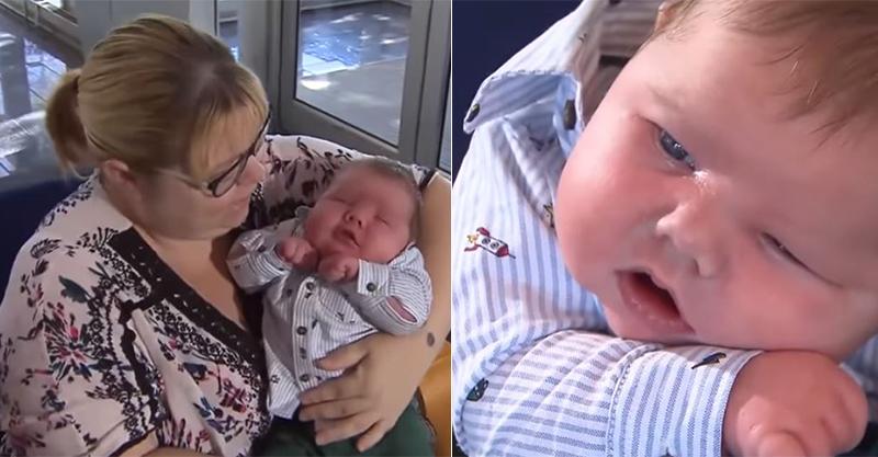 不孕媽媽「生出破紀錄巨嬰」!接生醫師也傻了:30年來沒看過這麼大的...