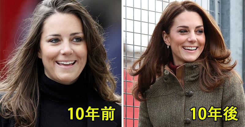 英國皇室成員也玩「10年挑戰」 威廉經過了那麽多年…果然歲月是把剃頭刀QQ