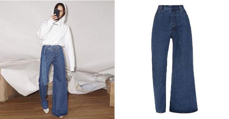 設計師把「2件牛仔褲」縫在一起 變成「今年必買單品」網友看到實體傻眼:時尚真難...